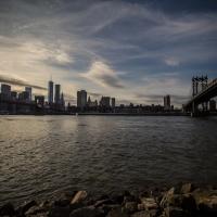 Uitzicht Manhattan vanaf Dumbo
